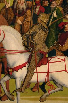 Germany (Master of the Death of Saint Nicholas of Münster), 1470-80.