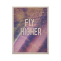 "Rachel Burbee ""Fly Higher"" KESS Naturals Canvas (Frame not Included)"