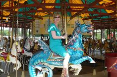 In Which Our Heroine Rides a Glittery Fantastical Beast (aka me on research trip, riding the carousel on the Mall) Carousel, Mall, Beast, Novels, Creatures, Carousels, Fiction, Romance Novels, Template