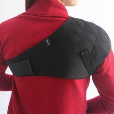 Unisex Shoulder Support Single Shoulder Brace Shoulder Protection Elastic Belt Tourmaline Products Medical Belt