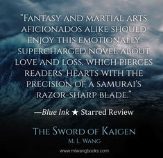 Storms, Swords, and Ice-elemental samurai!   'The Poppy War' meets 'Avatar: The Last Airbender' in M. L. Wang's new Japanese-inspired military fantasy - coming February 19th of 2019! Only 99c on Amazon for a limited time!