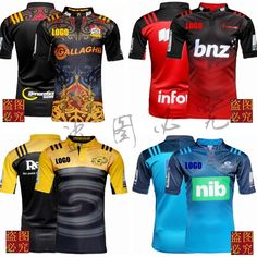 Best Quality NEW Zealand Rugby Jerseys 2016 Home Super Rugby S/S Rugby Shirt in stock Size S-2XL Free Shipping Rugby Jerseys, New Zealand Rugby, Super Rugby, Fashion Beauty, Free Shipping, Shirts, Tops, Style, Swag