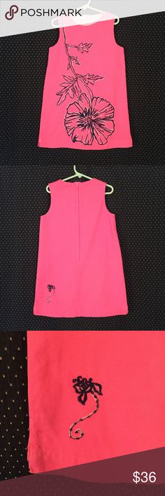 Lilly Pulitzer Pink Embroidered Dress Size 7 Brand: Lilly Pulitzer Size: 7 Description: Bright pink with single flower embroidered front; small flower embroidered back; covered back zipper Condition: Very Good Fabric: Shell: 100% cotton; Lining: 65% polyester, 35% cotton Item #1556 Bundle Discount Available! Reasonable offers welcome! No trades please.. Thanks for stopping by!! #Poshmark #Poshmarkapp #Poshmarkcloset Lilly Pulitzer Dresses Casual