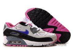 official photos ef5db 7db9f Nike Air Max 90 Womens Black White Grey Blue Top Deals FT2Xa, Price   74.00  - Nike Rift Shoes