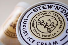 Vanilla Ice Cream Stew'N'Drew's