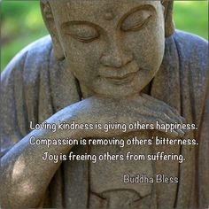Happiness, compassion and joy