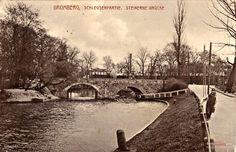 Most Władysława IV Wazy, Bydgoszcz - 1913 rok, stare zdjęcia