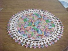 Crocheted Easter Doily