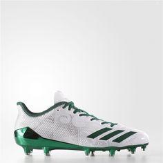 huge discount f0023 c6612 Adidas adizero 5-Star 6.0 Cleats (Running White  Dark Green  Dark Green