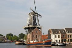 [Holanda] Molino de Adriaan en Haarlem