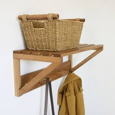 Are you interested in our Oak hat rack? With our Peg rail shelf you need look no further.