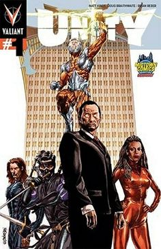 Unity #1 Midtown Comics variant by Mico Suayan