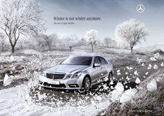Mercedes-Benz E-Class Sedan: Butterflies. Fuel consumption combined: 9,8-4,9 l/100km, CO2 emissions combined: 230-129 g/km. #MBCars