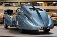 1936 Bugatti Type 57SC Atlantic...be still my heart...romantic vehicle.