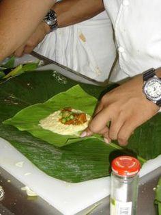 EL AMOR POR LA COCINA: Tamales Panameños, Paso a Paso.  Tamales de Maíz Nuevo