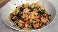 Shrimp and Asparagus Pasta Recipe | The Chew - ABC.com