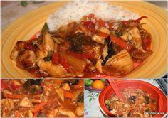 Die Tüte Maggi China-Wok mit 200ml. Wasser einrühren und bei geschlossenem Deckel weitere 5min. kochen lassen. Dann Uncle Ben's China Gemüse untermischen und nochmals ca. 5min. kochen. Dazu gab es Reis.