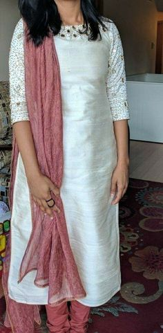 Whatsapp on 9496803123 to customise Salwar Neck Designs, Kurta Designs Women, Dress Neck Designs, Blouse Designs, Kurtha Designs, Design Ideas, Salwar Pattern, Simple Kurti Designs, Indian Designer Outfits