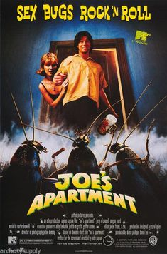 Joe's Apartment Jerry O'Connell 1996 Rare Vintage Poster