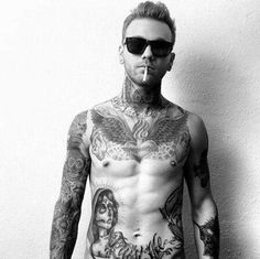 6 - Cool Design Body Tattoos for guys.