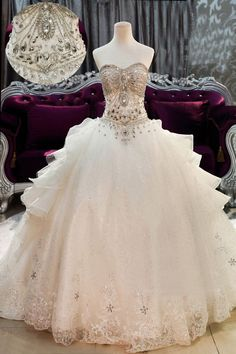 - Click image to find more Wedding Dress Pinterest pins