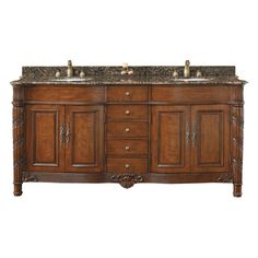 """You'll love the Stanton 83"""" Double Bathroom Vanity Set at Wayfair - Great Deals on all Home Improvement  products with Free Shipping on most stuff, even the big stuff."""