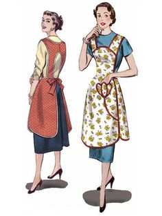 1950's Apron...grandma always wore an apron!
