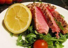 Steak z rybího filetu s česnekovým olejem