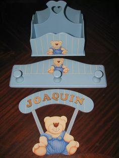 regalo nacimiento babyshower pañalera cartel perchero portac Decoupage, Babyshower, Baby Box, Baby Nursery Decor, Baby Boy Shower, Ideas Para, Diy, Home Decor, Decor Ideas