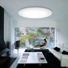 Big plafondlamp dimbaar