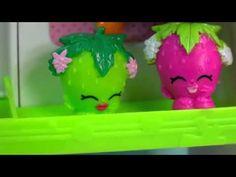 Shopkins COLLECTION TOUR Season 1 All Fruit & Veg Vegetable Easy Squeezy...