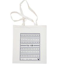 VAI-KØ Organic Cotton Bag Cotton Bag, Organic Cotton, Place Cards, Place Card Holders, Bags, Accessories, Handbags, Taschen, Purse