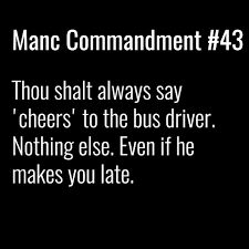 Image result for Manc commandments