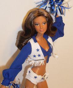 Dallas Cowboys Barbie Hispanic