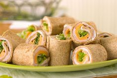 Had one too many turkey sandwiches in your life? Mix it up with mini wraps spread with tasty cream cheese. It's a whole new take on a better-for-you lunchtime.