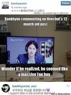 It's ok Baekhyun, we've all done it! haha