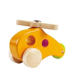 Little Copter From Hape from The Wooden Toybox