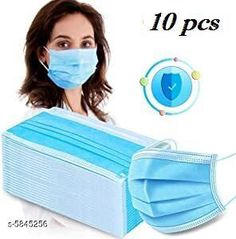 Others Medical Disposable 3 Ply Mask COMBO Material :- PP Non woven Size :- Size :- Free Size  Quality :- 3 Layer Ear loop :- Elastic ear loop Multipack: 10 Country of Origin: India Sizes Available: Free Size *Proof of Safe Delivery! Click to know on Safety Standards of Delivery Partners- https://ltl.sh/y_nZrAV3  Catalog Rating: ★4.3 (572)  Catalog Name: Medical Disposable 3 Ply Mask COMBO CatalogID_881580 C84-SC1284 Code: 641-5845256-
