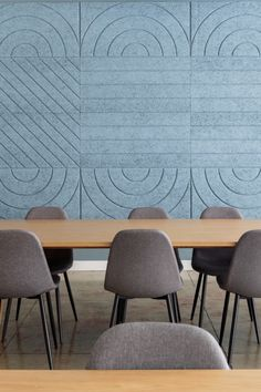 When it's time to work, nobody wants to deal with distractions. BAUX Acoustic Panels absorb sound so that you can stay focused on the task at hand. Acoustic Wall Panels, 3d Wall Panels, Loft Design, Wall Design, Upholstered Wall Panels, Home Cinema Room, Workplace Design, Office Interiors, Textured Walls