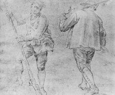 Goya y Lucientes, Francisco de: Dos cazadores