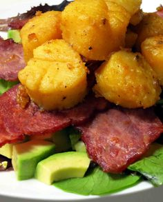 Bacon Scallop Tower - Urban Paleo Chef