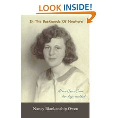 In The Backwoods of Nowhere: True story of a remarkable woman. Real life in early 1900s North Carolina. She will steal your heart. $2.99