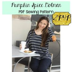 Pumpkin Spice Dolman