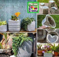 gartenkugeln basteln aus beton als beispiel für moderne, Garten Ideen