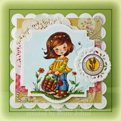Sweet Chloe by Beate - Cards and Paper Crafts at Splitcoaststampers