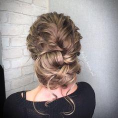 Wedding Hairstyle by @stylist_kristina_wed