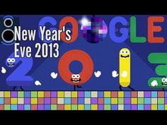 New Year's Eve 2013 - Google Doodle I LOVE the Google Doodles!! Happy New Year's ,everyone!! :)