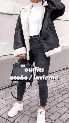 Casual Winter Outfits, Winter Fashion Outfits, Fall Outfits, Basic Outfits, Mode Outfits, London Outfit, Outfit Sets, Beautiful Outfits, Trending Outfits