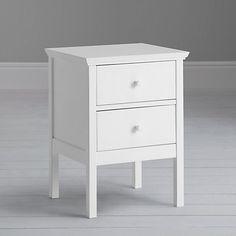 Buy John Lewis Wilton 2 Drawer Bedside Cabinet Online at johnlewis.com