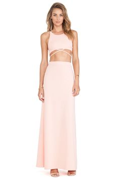 Toby Heart Ginger x Love Indie Newport Maxi Dress in Peach | REVOLVE